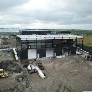 Nieuwbouw bedrijfspand de Rooy Las en constructiewerk